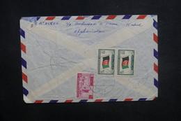 AFGHANISTAN - Enveloppe De Kaboul Pour La France En 1957, Affranchissement Plaisant Au Verso - L 37615 - Afghanistan