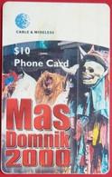 EC $10 Mas Domnick 2000 - Dominica
