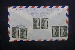 AFGHANISTAN - Enveloppe De Kaboul Pour La France En 1957, Affranchissement Plaisant Au Verso - L 37616 - Afghanistan