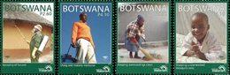 BOTSWANA Malaria 4v 2011 Neuf ** MNH - Botswana (1966-...)