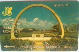 14JAMB Alexander Bustamante J $20  MINT - Jamaïque