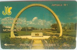 14JAMB Alexander Bustamante J $20  MINT - Jamaica