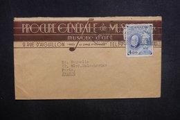 CANADA - Enveloppe Commerciale De Quebec Pour La La France En 1947, Affranchissement Plaisant - L 37623 - Storia Postale