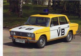 Voitures Soviétiques  -  LADA 1500 (Vaz 2103)  -  VB - Police? - CPM - Voitures De Tourisme