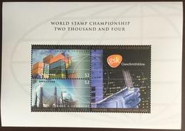 Singapore 2004 World Stamp Championship GSK Minisheet MNH - Singapore (1959-...)