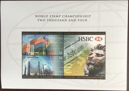 Singapore 2004 World Stamp Championship HSBC Minisheet MNH - Singapore (1959-...)