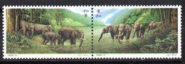 Serie Nº 3296/7 China - Elefantes