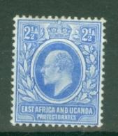 East Africa & Uganda Protectorates: 1903/04   Edward    SG4   2½a   MH - Protectorados De África Oriental Y Uganda