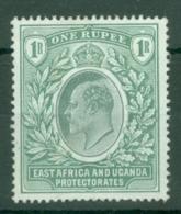 East Africa & Uganda Protectorates: 1903/04   Edward    SG9   1R    MH - Kenya, Uganda & Tanganyika