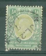 East Africa & Uganda Protectorates: 1904/07   Edward    SG17   ½a    Used - Kenya, Uganda & Tanganyika
