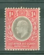 East Africa & Uganda Protectorates: 1904/07   Edward    SG18   1a    MH - Kenya, Uganda & Tanganyika