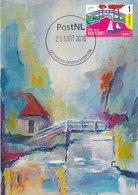 D37771 CARTE MAXIMUM CARD RR FD 2016 NETHERLANDS - WOODEN BRIDGE AT GIETHOORN CP ORIGINAL - Ponts