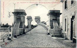 42 ANDREZIEUX - Inondation Du 17 Octobre 1907 - Ecroulement Du Pont - Andrézieux-Bouthéon