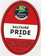 SALTAIRE BREWERY (SHIPLEY, ENGLAND) - SALTAIRE PRIDE - PUMP CLIP FRONT - Signs