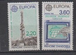 ANDORRE-1988.N°369/370** EUROPA - Ongebruikt