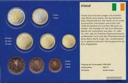 Irland IRL1 - 3 2002 Stgl./unzirkuliert Stgl./unzirkuliert 2002 Kursmünze 1,2 E 5 Cent - Irlanda