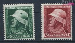 Deutsches Reich 569y-570y (kompl.Ausg.) Mit Falz 1935 Heldengedenktag (9333484 - Deutschland