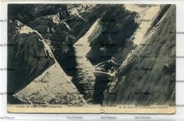 Shetland Postcard 1900s Cave Of The Knab Lerwick By RH Ramsay  C1908 Used - Shetland