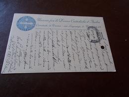 B732   Intero Postale Torino Unione Donne Cattoliche Cm14x9 - Cartoline