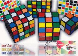 D37786 CARTE MAXIMUM CARD RR FD 2015 NETHERLANDS - RUBIK'S CUBE - TOYS CP ORIGINAL - Spiele