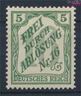 Deutsches Reich D11 Mit Falz 1905 Ausgabe F. Baden (9333529 - Ungebraucht