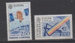ANDORRE-1991.N°402/403** EUROPA - Ongebruikt