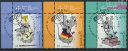RFA (FR.Allemagne) 3075-3077 (complète.Edition.) Oblitéré 2014 Aide Sportive: Comics Uli Pierre (9336031 (9336031 - [7] Repubblica Federale