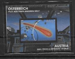 Autriche 2006 Bloc N°37 Oblitéré Espace, Météorite - Blocks & Sheetlets & Panes