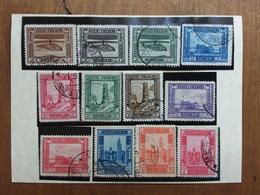 COLONIE ITALIANE - SOMALIA 1935/38 - Pittorica Dent. 14 Incompleta - Timbrati + Spedizione Prioritaria - Somalia