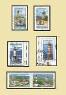 FRANCE  2007  -  Y&T   4012  à 4017 La Série Complète - Phares - Oblitérés - Gebraucht