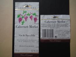 Pays D'Oc Cabernet Merlot - Chais Beaucairois à Beaucaire - Vin De Pays D'Oc