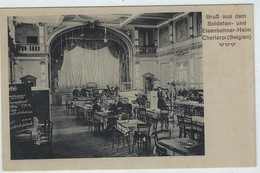 Charleroi Belgien Eisenbahnerheim - Namur  -  Postcard Allemande (1914-1918) - Charleroi
