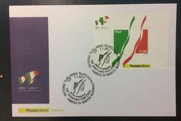 BUSTA FDC - Foglietto Italia 1861-2011 150° Anniversario Unità D'Italia 2011 - 6. 1946-.. Repubblica
