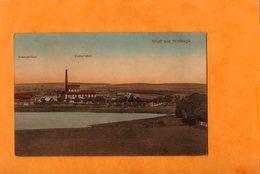 WOLDEGK  -  GRUSS AUS....  BEAMTENHAUS  -  ZUCKERFABRIK  -  Janvier 1919 - Other
