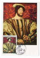 Carte Maximum 1967 - François 1er Par Claude Clouet YT 1518 -16 Cognac - 1960-69