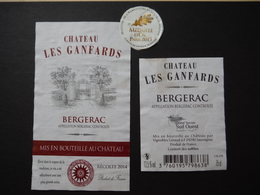 Bergerac Château Les Ganfards 2014 - Vignobles Géraud à Saussignac - Bergerac
