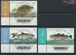 RFA (FR.Allemagne) 3255-3257 (complète.Edition.) Oblitéré 2016 Salzwasserfische (9336020 (9336020 - BRD