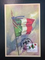 MAXI CARTOLINA FDC - Italia 2011 - Tricolore Simbolo Di Identità Nazionale - 6. 1946-.. Repubblica