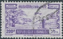 LIBANO Lebanon Liban 1945 - 200Pia,Used - Lebanon