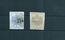 Classiques De France / 2 Timbres Fiscaux Dimension , N°6/7 , Cote:112euro - France