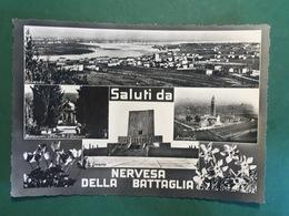 Cartolina Saluti Da Nervesa Della Battaglia - 1953 - Treviso