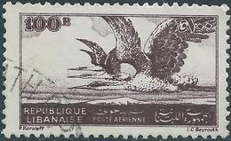 LIBANO Lebanon Liban 1946 - 100Pia,Used - Lebanon