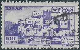 LIBANO Lebanon Liban 1947 - 100Pia,Used - Lebanon