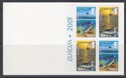 Europa Cept 2001 Azerbaijan  Booklet With 2x2v   ** Mnh (44051) - 2001