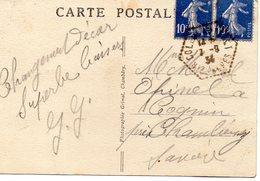 Valloires Galibier Envoyé A Marcel Opinel Cognin - Frankreich