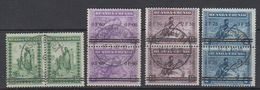 "Ruanda-Urundi 1941 ""Meulemans"" Ovptd 4v (pair) Used (44052) Ca Usumbura - 1924-44: Afgestempeld"