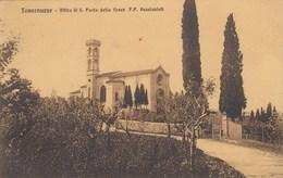 Tavarnuzze-firenze-ritiro Di San Paolo Della Croce-CARTOLINA VIAGGIATA NEL 1921 - Firenze