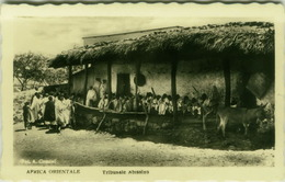 AFRICA - ERITREA - MASSAWA / MASSAUA - TRIBUNALE ABISSINO / ABISSINO COURT - FOTO COMINI - 1930s (BG3917) - Eritrea