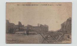 NOS REGIONS DEVASTEES HARNES LA GARE TRACE DE COLLE AU DOS - Guerre 1914-18