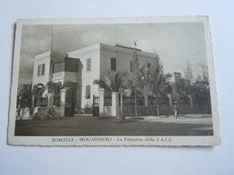CPA-KP-PC- SOMALIA   SOMALIS , MOGADISCIO   - COLONIA ITALIANA --  Palazina Della   SAIS - Somalië